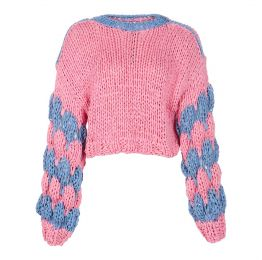 Recycled Cotton Cropped Jumper