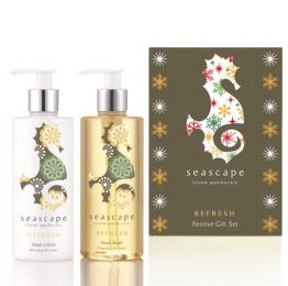 Seascape Island Apothecary Refresh Festive Gift Set (2 X 300ml)