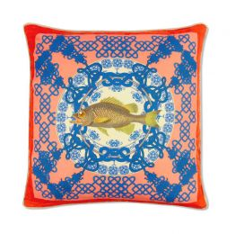 China Regale Coral Large Cushion