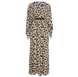Roma Maxi Cheetah Print Dress