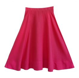 Royal Pink Flowing Skirt
