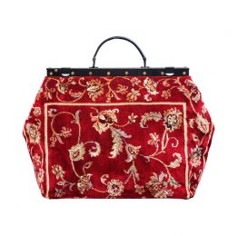 SAC-VOYAGE Pergola Red Bag | Made of Carpet
