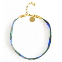 Shine Choker - Blue And Green | Shh by Sadie