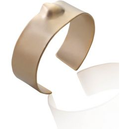 Noritamy Short Dented Gold Cuff