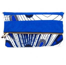 Sibongile Leather Clutch With Sling