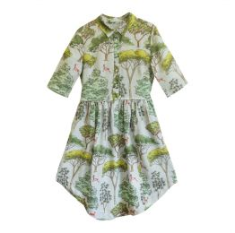Silent Forest Shirt Dress