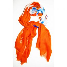 Burnt Tarmac Scarf | Ajib London