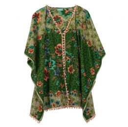 Summer Dreams Green Kaftan