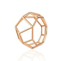 Tetra Ring in 14k Yellow Gold | OSYLIA London