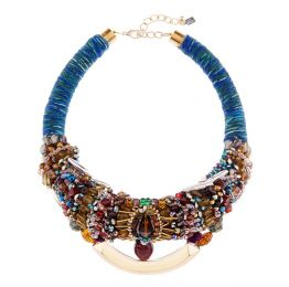 Anita Quansah Tilly Beaded Collar Necklace