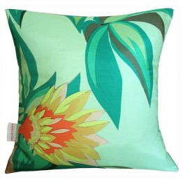 Tropical Flowers Cushion | Chloe Croft