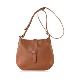 Tulip Crossbody Bag Saddle Leather