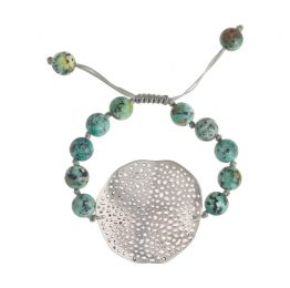 Turquoise Silver Plated Bracelet
