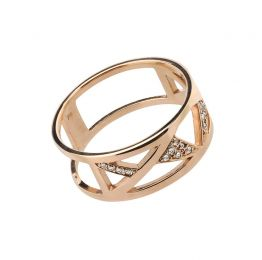 Vaasa Ring 18K Rose Gold | Afew Jewels