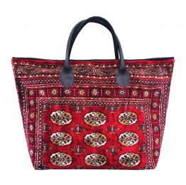 VOYAGER ELITE Bukhara Red Weekender Bag