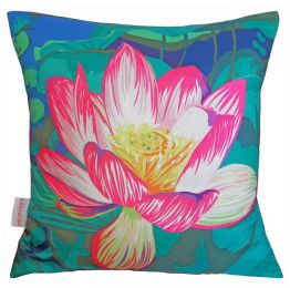 Waterlily Cushion | Chloe Croft