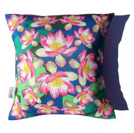 Waterlily Wonder Cushion | Chloe Croft