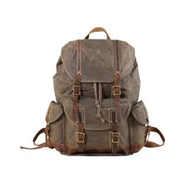 Waterproof Waxed Canvas Backpack