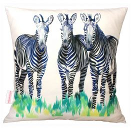 Zebras Cushion | Chloe Croft