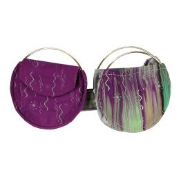 Zero Waste Pi Double Belt Bag Purple