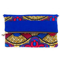 Zinhle Leather Clutch With Sling
