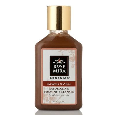 Moroccan Red Rose Exfoliating Foaming Cleanser