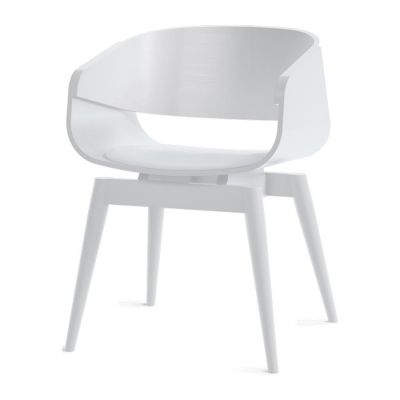 4th Armchair Color Soft in White