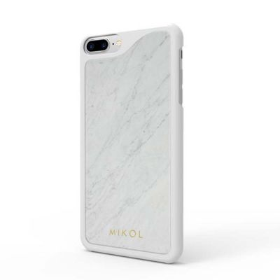 Carrara White Marble iPhone (6, 6 Plus, 7, 7 Plus, 8, 8 Plus, X) Case | Mikolmarmi