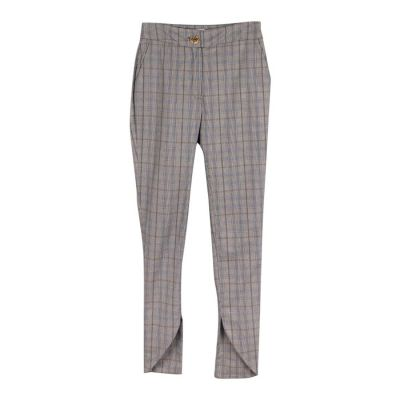 Check Skinny Suit Trouser