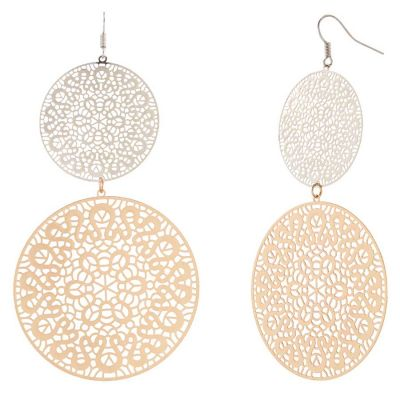 POTC Jewellery - Doily Two-Disc Hook Earrings