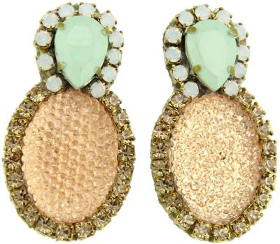 Doloris Petunia Bubble Earrings - Pastel