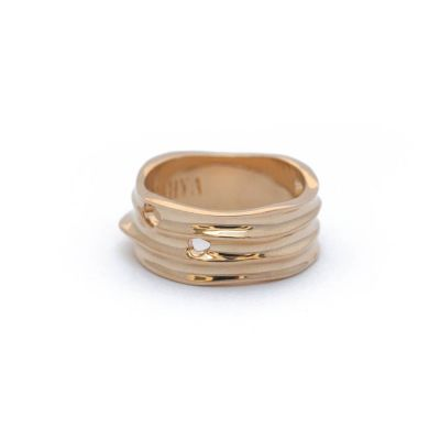 Gold Fragment Ring | Rahya Jewelry Design