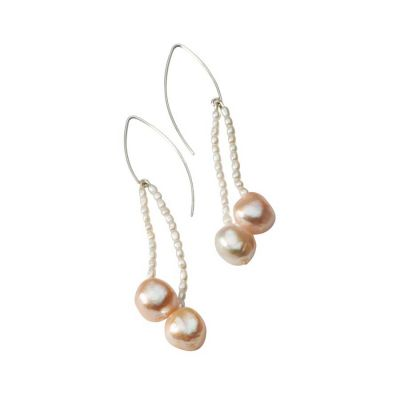 Athena Pearl Drop Earrings | Mielini Jewelry