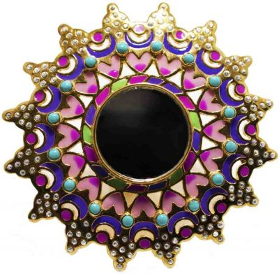 Mirror Ring by Manish Arora for Amrapali Collaboration