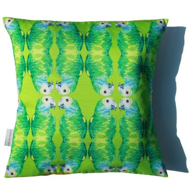 Parallel Parrots Cushion | Chloe Croft