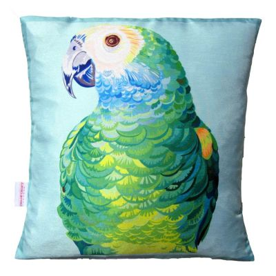 Parrot Portrait Cushion | Chloe Croft