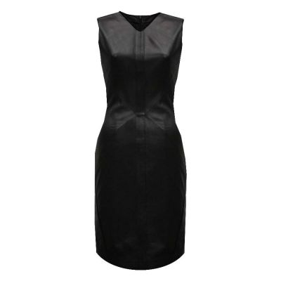 Peggy Leather Dress