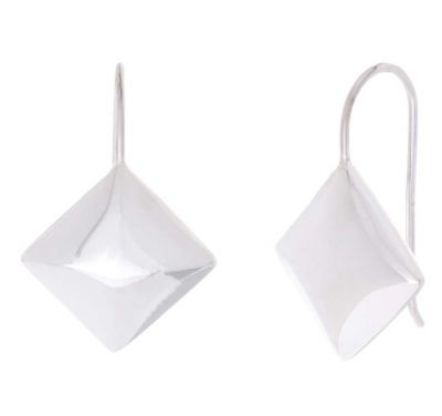 POTC Jewellery Contemporary Silver Tone Earrings