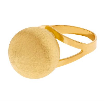 POTC Jewellery Gold Plated Ball Ring