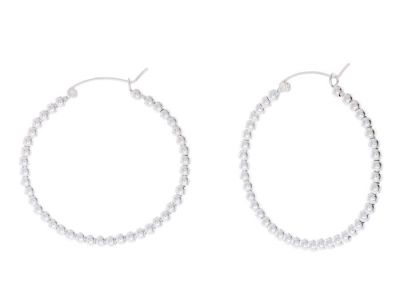 POTC Jewellery Silver Hoop Earrings