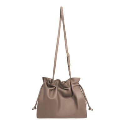 Socoa Taupe Cross Body Bag