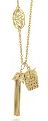 Tulola Tassel 18k Gold Plated Necklace