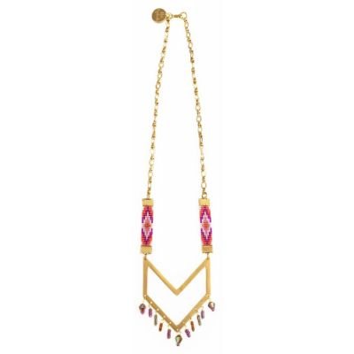 Pink Twilight Necklace | Shh by Sadie