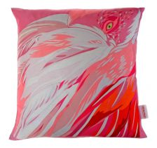 Amaranth Abstract Cushion | Chloe Croft