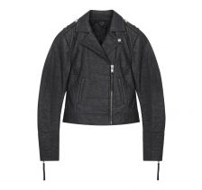 PETA Certified Vegan Ananas Charcoal Jacket