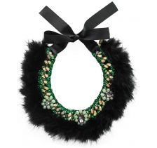 Ricardo Rodriguez Black Swan Necklace