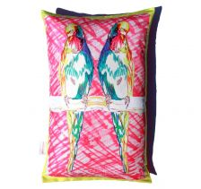 Buddy Budgies Cushion | Chloe Croft