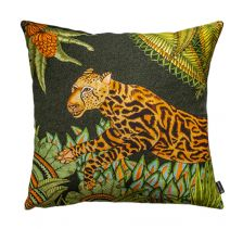 Cheetah Kings Forest Delta Cotton Cushion Cover