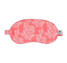 Coral Coolness Eye Mask