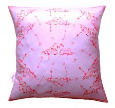 Fabulous Fuchsia Flamingos Cushion | Chloe Croft